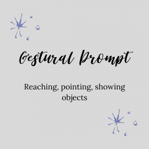 graphic about gestural prompt