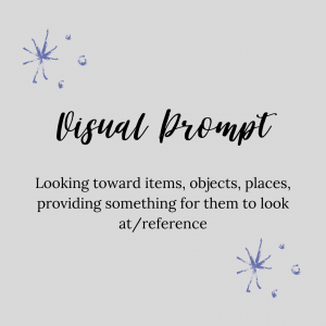 graphic about visual prompt