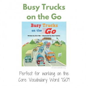 "Let me introduce you to ""Busy Trucks on the Go"" - a picture book filled with engaging scenes featuring various trucks and vehicles that kids may see throughout their day. The illustrations are narrated with simple rhyming text that labels the name of the vehicle as well as providing a clue as to the job the vehicle helps perform within the community. This mix of engaging, colorful illustrations and rhyming, rhythmic text make this book a fun read for kids and adults alike!"