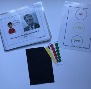 image of Garret Morgan book, sorting template and stoplight activity template